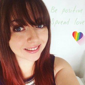 be positive selfie