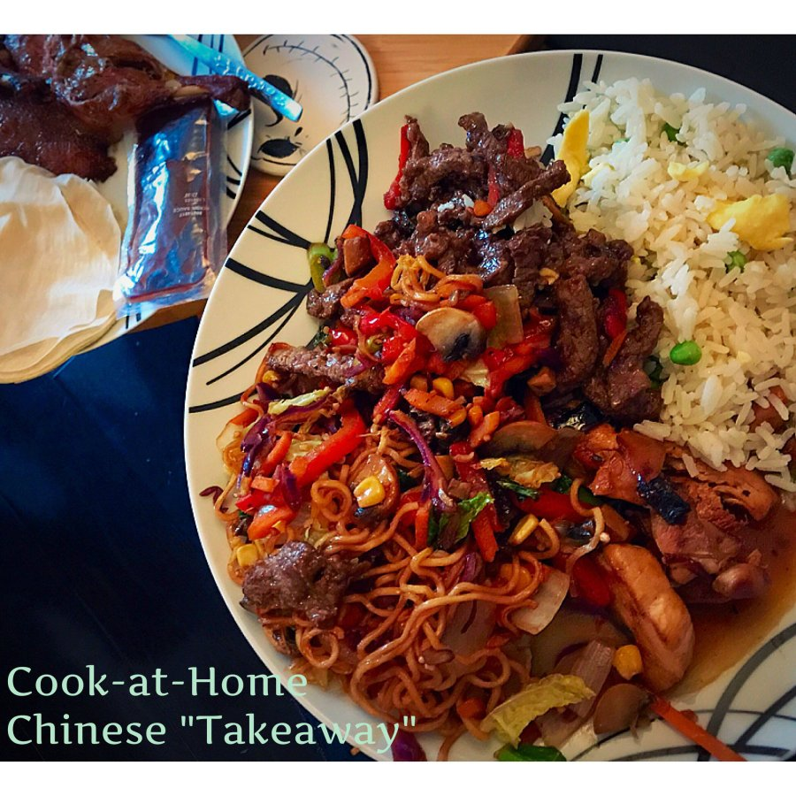 "Cook-at-Home Chinese ""Takeaway"""