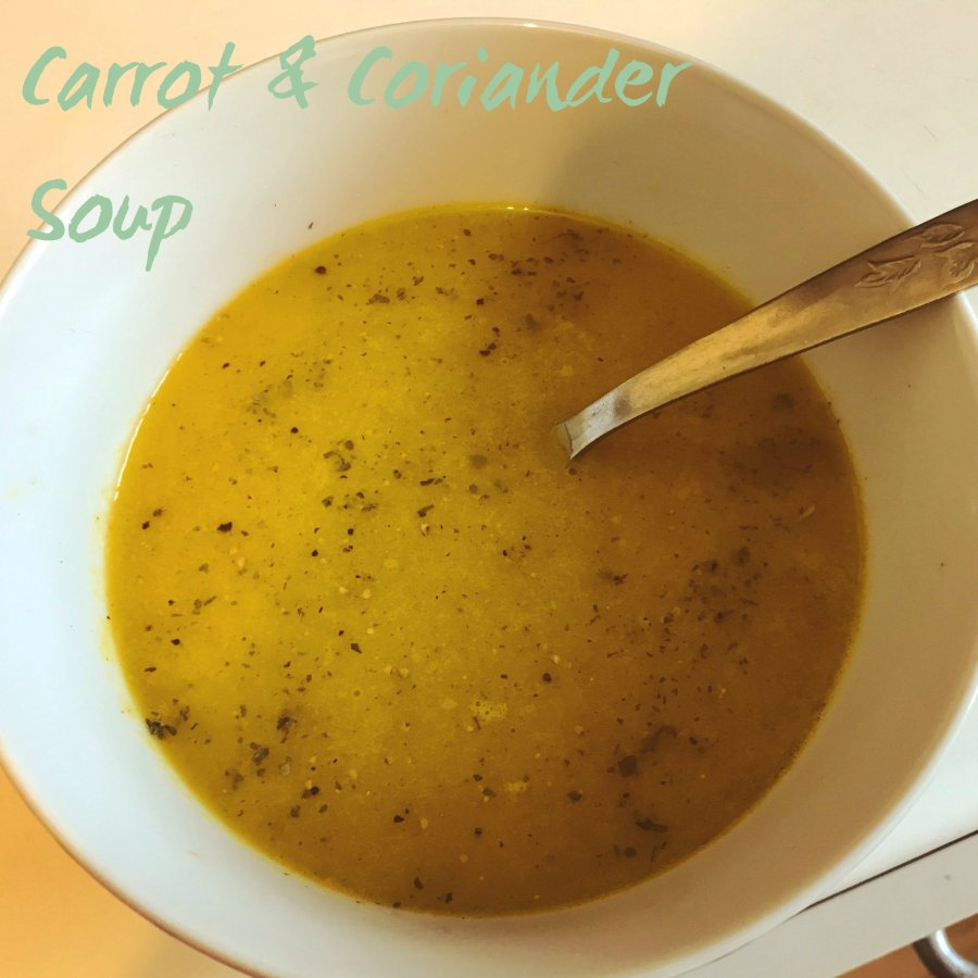 RECIPE: Carrot And Coriander Soup | #ThisGirlEats