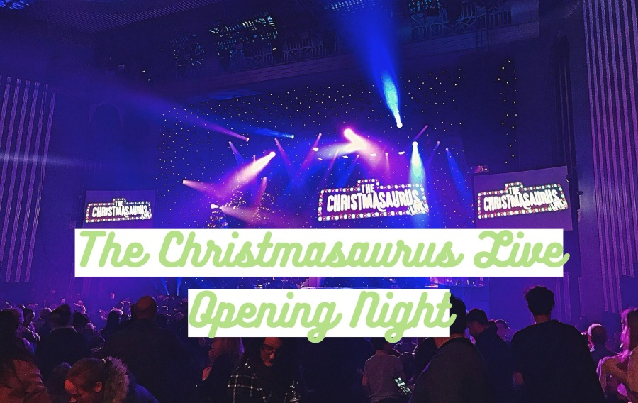 BLOGMAS: The Christmasaurus Live OnStage