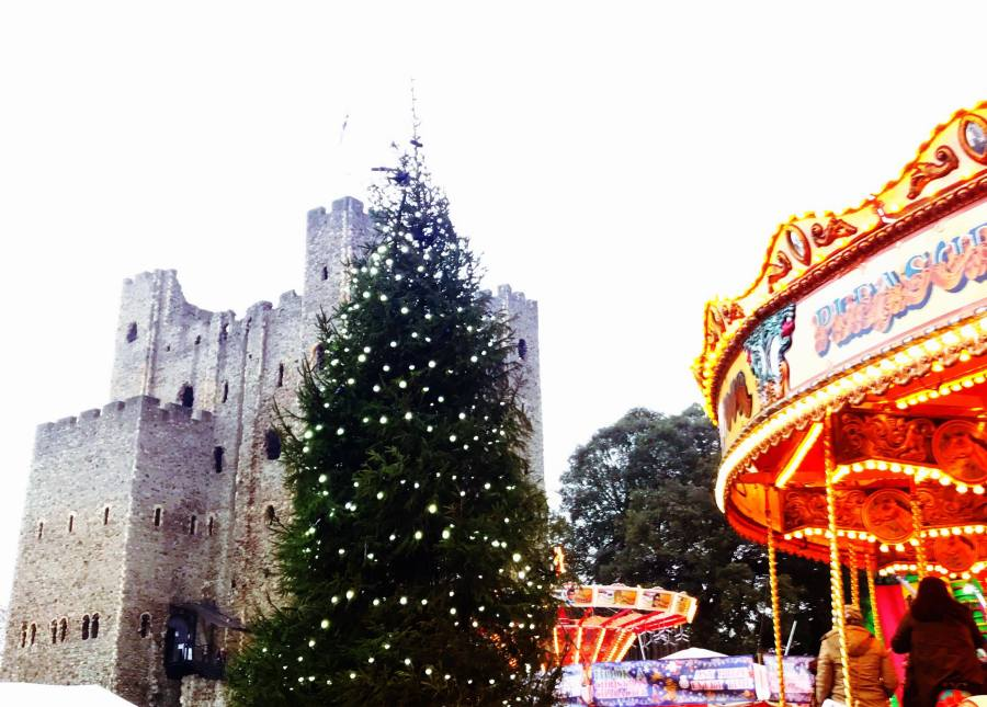 BLOGMAS: A Day Out at My Local Christmas Market