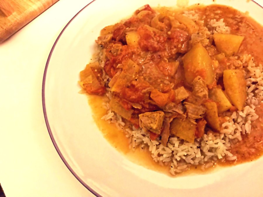 BLOGMAS: It's Not Christmas Without It – Leftover Turkey Curry, Slow-Cooker Style