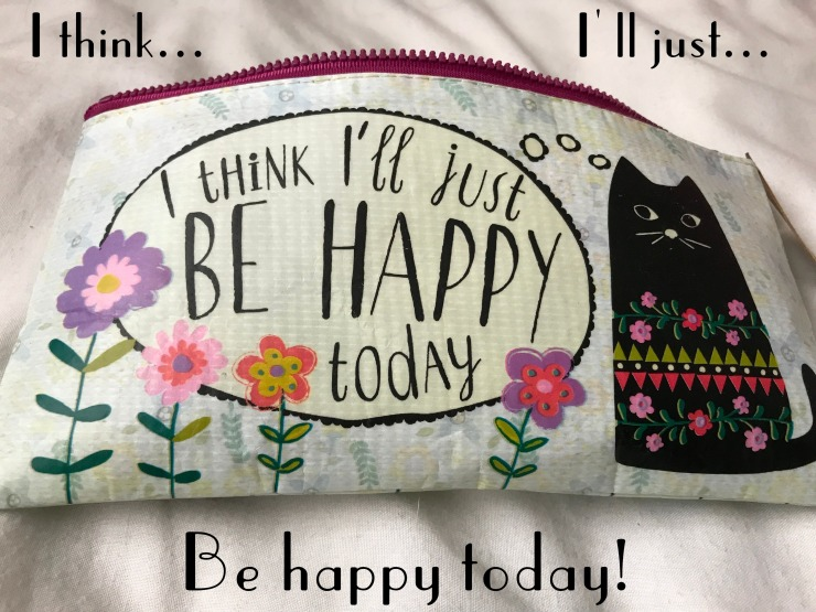 be happy text
