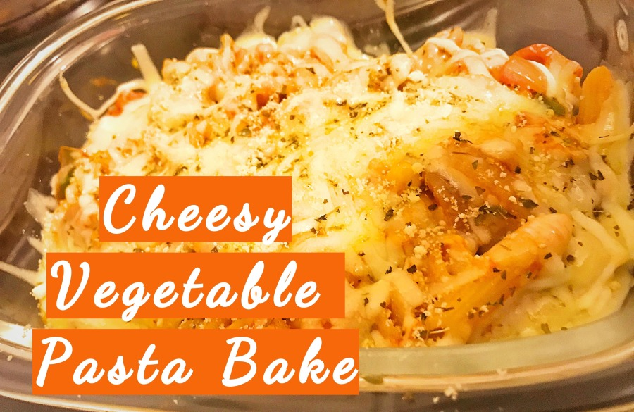 RECIPE: Cheesy Vegetable Pasta Bake |#ThisGirlEats