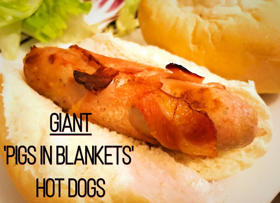 RECIPE: Giant 'Pigs In Blankets' Hot Dogs | #ThisGirlEats