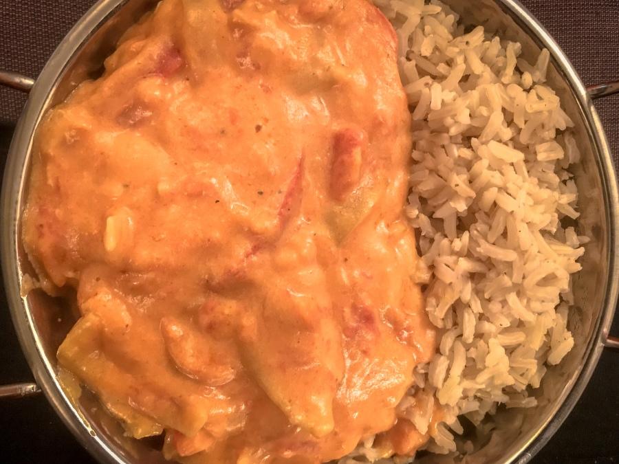 RECIPE: Peanut Butter Chicken Curry |#ThisGirlEats