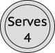 Serves 4