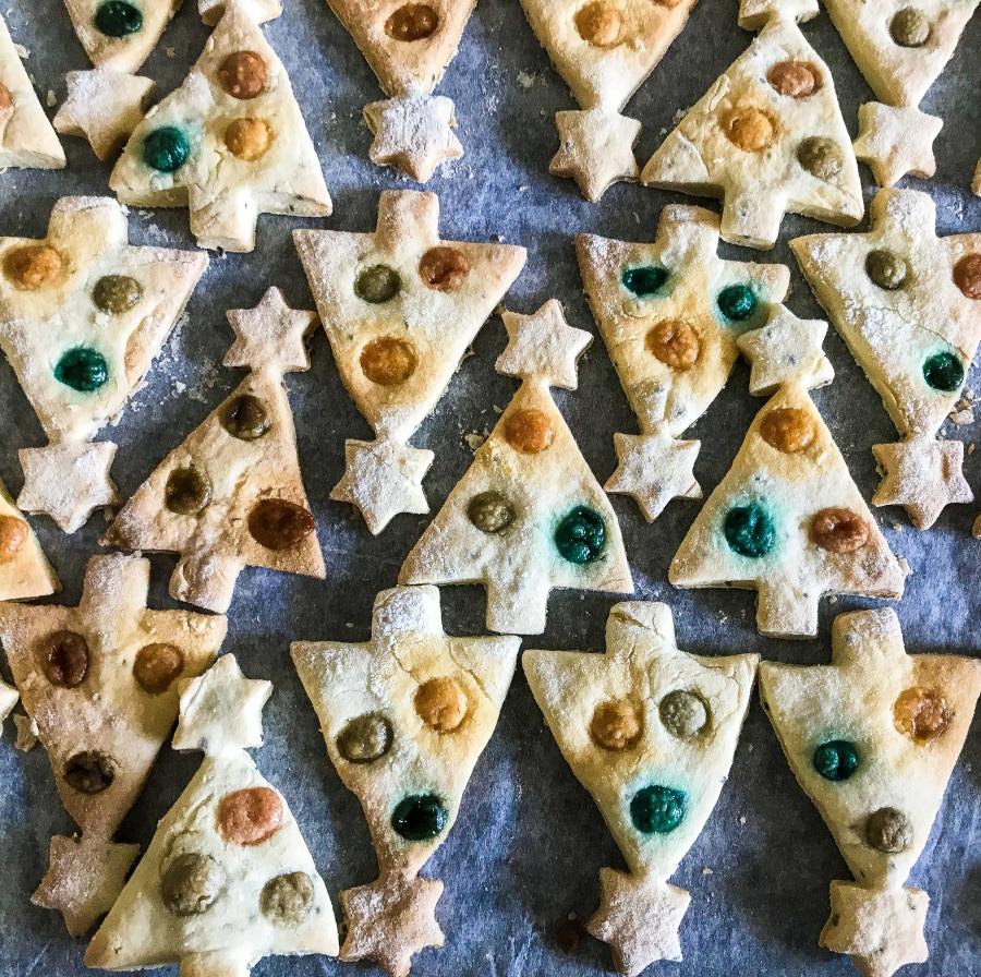 RECIPE: Christmas Tree Cookies |#ThisGirlEats