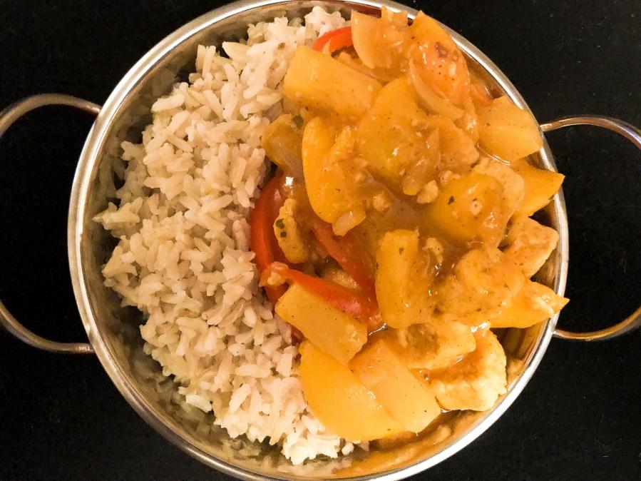 RECIPE: Fruity Chicken Curry |#ThisGirlEats