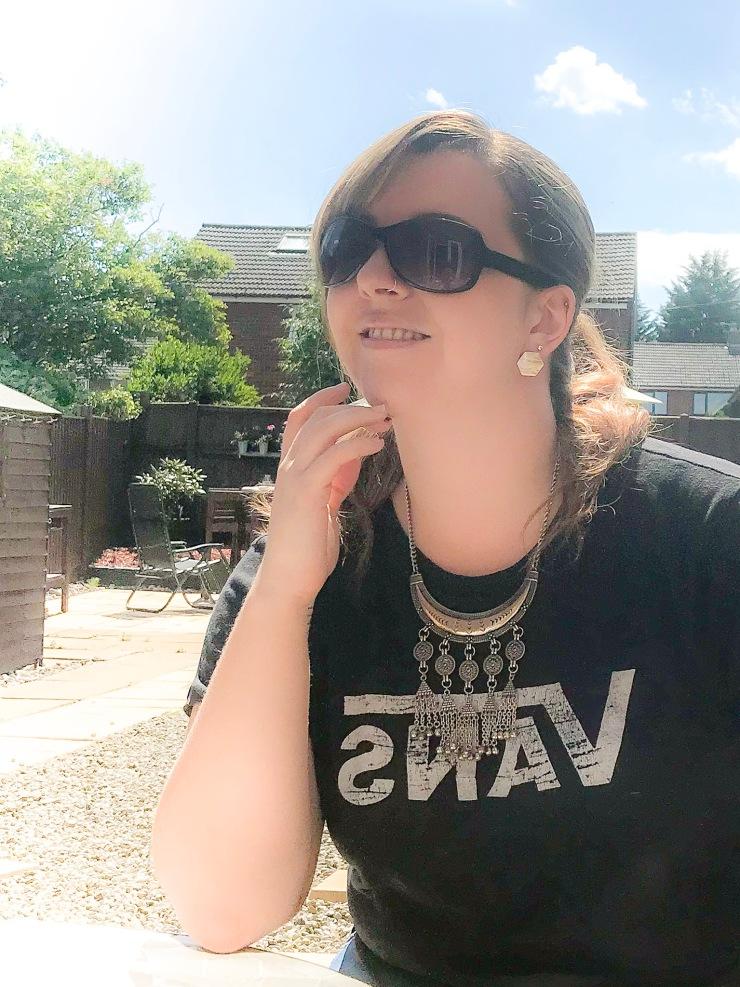 Sitting in the sunshine
