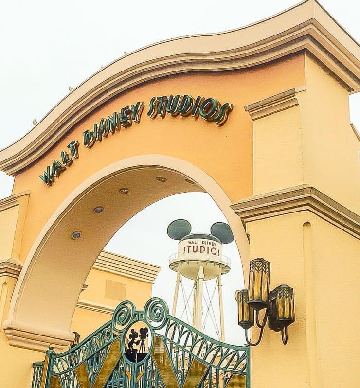 Entry gates to Walt Disney Studios