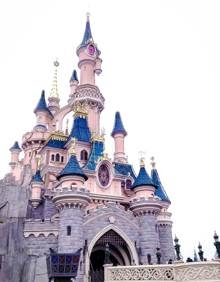 Sleeping Beauty Castle (Le Château de la Belle au Bois Dormant) in Disneyland Paris.