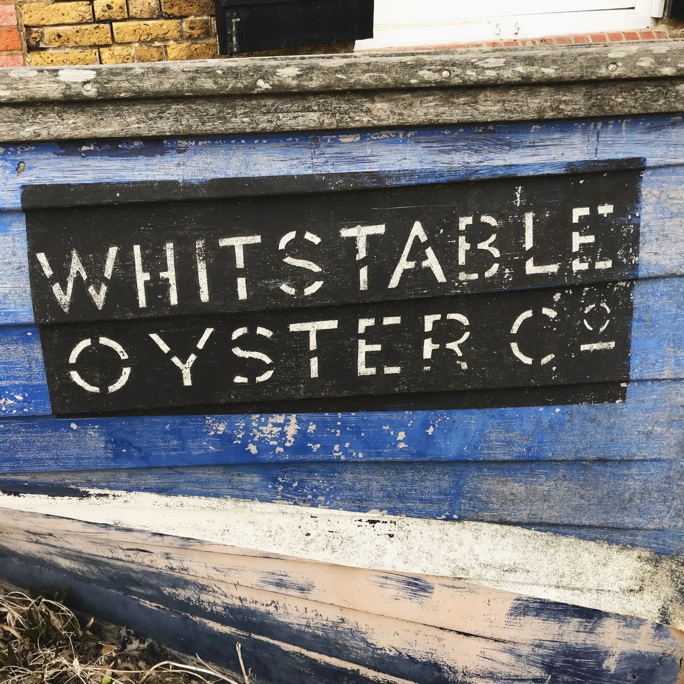 Whitstable harbour and beachfront