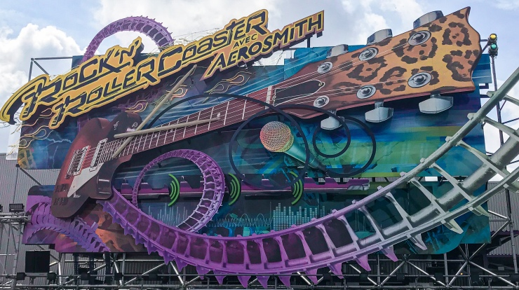 Rock 'n' Roller Coaster Starring Aerosmith at Disneyland Paris